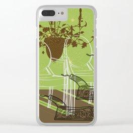 GhostChair Clear iPhone Case