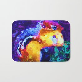 Abstract Chipmunk on the St. Lawrence Bath Mat