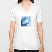 cup V-neck T-shirts featuring Cup by ONEDAY+GRAPHIC