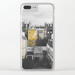 Paris I (Tags) Clear iPhone Case