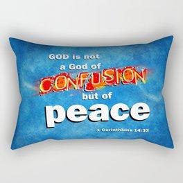 No Confusion Rectangular Pillow