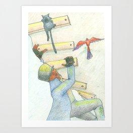 Invigoration (Climb) Art Print