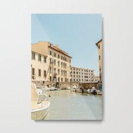 Beautiful Livorno Italy Metal Print