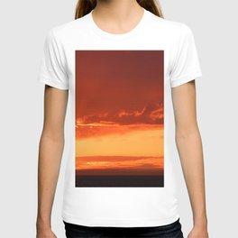 Flying Through the Sky Shadows T-shirt
