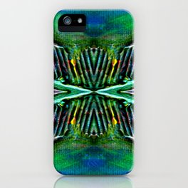 Textures Eye (view 4) iPhone Case