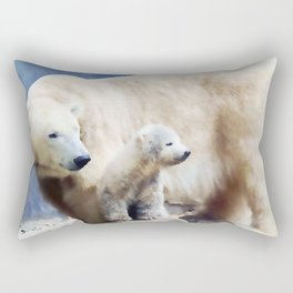 Polar Family Rectangular Pillow