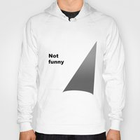 theater Hoodies featuring Not funny theater lighting by rita rose