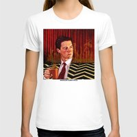 twin peaks T-shirts featuring Twin Peaks  by Magdalena Almero