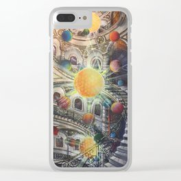 Eternal Ascension Clear iPhone Case