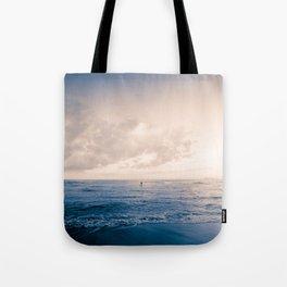 calm day ver.blueorange Tote Bag