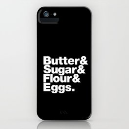 The Fab 4 - Baking iPhone Case