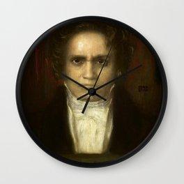 Ludwig van Beethoven (1770-1827) by Franz von Stuck (1863 - 1928)(2) Wall Clock
