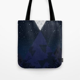 The Mountain and the Moon Tote Bag