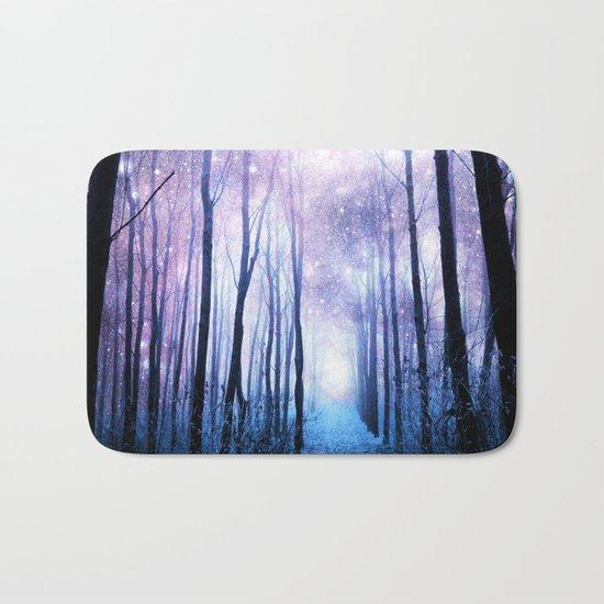 Fantasy Forest Path Bath Mat