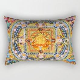Mandala Buddhist 2 Rectangular Pillow