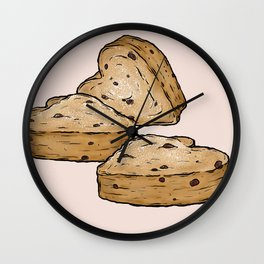 Q is for Queen Cake Wall Clock