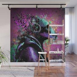 Splatter Ape Wall Mural