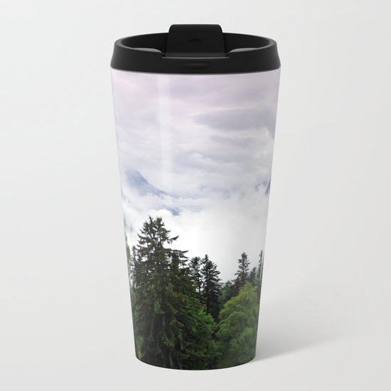 mountain view i. Metal Travel Mug