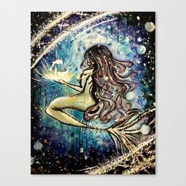 Faceless Pisces  Canvas Print