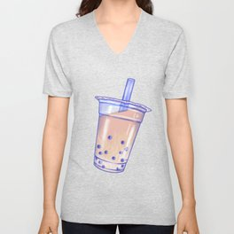 Bubble Tea Unisex V-Neck