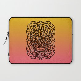 Death is a Lonely Business Laptop Sleeve