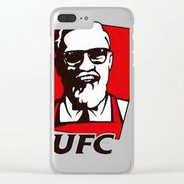 Conor Mcregor KFC Clear iPhone Case