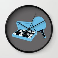 forrest gump Wall Clocks featuring Forrest Gump by FilmsQuiz