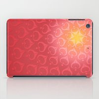 calligraphy iPad Cases featuring Calligraphy: Love  by Joumana Medlej