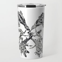 Gemini (Castor and Pollux) Travel Mug