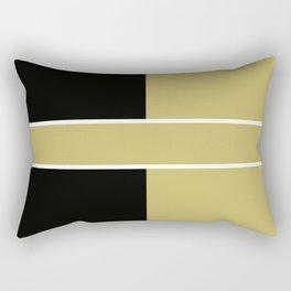 Team Color 6...black,gold Rectangular Pillow