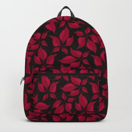 Autumn Leaves (Jet) Backpack