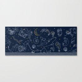 Stellar Love Canvas Print