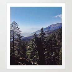 San Bernardino Mountains Art Print