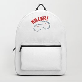 Killer Sharks Happy Aquamarine Marine Life Water Sea Ocean Shark Family Sea Creatures Gift Backpack