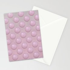 Pink Pearl Pattern Stationery Cards