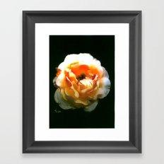 FLORAL ECLIPSE Framed Art Print