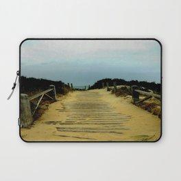 Path to the Beach Laptop Sleeve