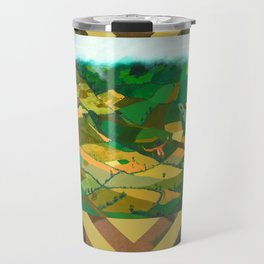 Wait me into your quilty cover.. Travel Mug