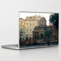 greek Laptop & iPad Skins featuring Greek Church by Lauren Doberstein