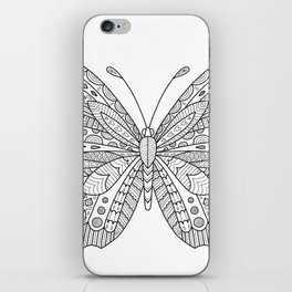 Decorative Butterfly iPhone Skin
