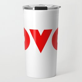 Red Lover Travel Mug