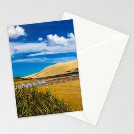 Quicksand stream near 90-Mile Beach, New Zealand Stationery Cards