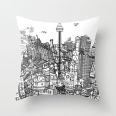 Toronto! (version #2) Throw Pillow