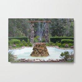 ravine gardens fountain Metal Print