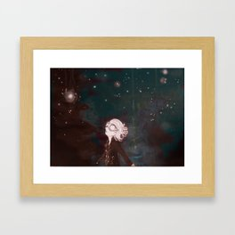 Atoms Framed Art Print