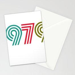 Vintage 1979 birthday birthday idea 40 years Stationery Cards