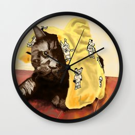 We Are Not Amused Wall Clock