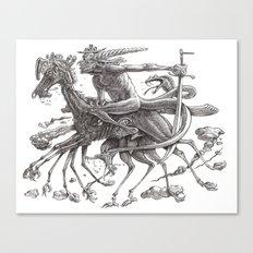 Great Duke Bathin Canvas Print