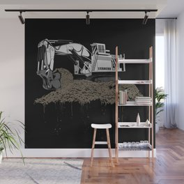 Excavation Wall Mural