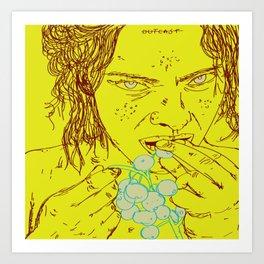 Pariah. Art Print